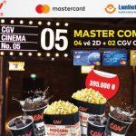 LienVietPostBank ưu đãi cho chủ thẻ MasterCard tại CGV