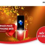 Lộc xuân mỗi tuần 1 iPhone 7 dành tặng khách hàng Maritime Bank