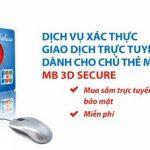 MB chính thức triển khai dịch vụ 3D secure cho thẻ MB Sakura từ 07/01/2017