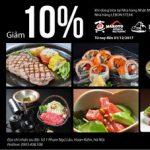 MB Private: Ưu đãi tại nhà hàng Nhật Makoto và nhà hàng Lebon Steak