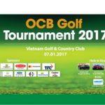 OCB Golf Tournament 2017: Tri ân và gắn kết