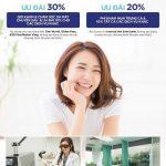 Giảm 20%-30% các dịch vụ chăm sóc da tại Grace Skin Clinic cho khách hàng Eximbank