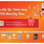 SHB ra mắt thẻ tín dụng hoàn tiền đồng thương hiệu SHB-Mancity Visa Cashback