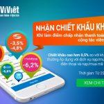 Nhận chiết khấu cao khi đăng ký làm Điểm chấp nhận thanh toán Ví Việt