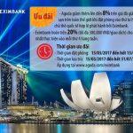 Eximbank hoàn tiền 20% dành cho chủ thẻ quốc tế Eximbank khi đặt phòng tại Agoda