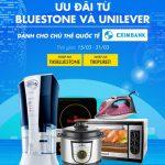 Ưu đãi từ Bluestone và Unilever dành cho chủ thẻ quốc tế Eximbank