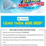 Giải pháp mùa nóng cùng chủ thẻ quốc tế Eximbank tại Hệ thống Nguyễn Kim