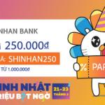 Mừng sinh nhật Lazada cùng Shinhan Bank Vietnam