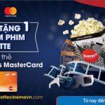 Mua 2 tặng 1 khi mua vé xem phim Lotte với thẻ MB Bankplus MasterCard