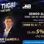 Ưu đãi 5% cho chủ thẻ MB khi mua vé Bad Boys Blue & Sandra live concert