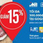 Giảm 15% tại Gogi House cho chủ thẻ MB JCB Sakura