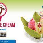Ưu đãi tại Fanny Ice Cream cho chủ thẻ MB JCB Sakura