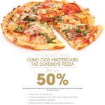 Ưu đãi bất ngờ cùng OCB MasterCard tại Domino's Pizza