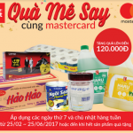 Nhận quà hấp dẫn khi đi siêu thị với VPBiz Mastercard