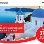 Ưu đãi 37% khi đặt phòng khách sạn tại Agoda với thẻ Quốc tế Maritime Bank