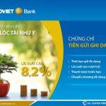 Chứng chỉ tiền gửi ghi danh BaoViet Bank lãi suất lên đến 8,2%/năm