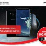 Hoàn tiền lớn, quà tặng sành điệu và thực hiện giấc mơ qua Mỹ khi mua Samsung Galaxy S8/S8+ với thẻ Quốc tế Maritime Bank
