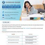 Mở thẻ Shinhan Bank Vietnam trực tuyến trên Lazada, nhận ngay mã giảm giá đến 2,000,000 VND