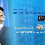 Nhận quà tặng khi mở thẻ tín dụng doanh nghiệp của Sacombank
