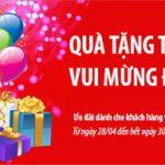 Quà tặng tưng bừng – Vui mừng đại Lễ cùng Ngân hàng Bản Việt