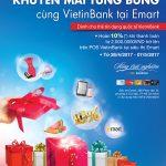 Thỏa sức mua sắm cùng thẻ VietinBank tại siêu thị Emart Gò Vấp