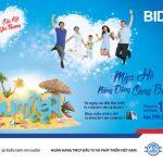 Chương trình tiết kiệm dự thưởng Mùa hè năng động cùng BIDV