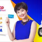 Mua sắm tại Coopmart nhận quà đẳng cấp với thẻ Sacombank Visa