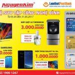Thẻ LienVietPostBank MasterCard được ưu đãi khi mua các Bộ sưu tập công nghệ đỉnh tại Nguyễn Kim