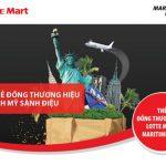 Du lịch Mỹ sành điệu cùng thẻ Đồng thương hiệu Lotte Mart - Maritime Bank