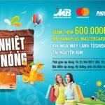 Ưu đãi tại Nguyễn Kim dành cho chủ thẻ MB Bankplus Mastercard