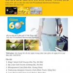 Giảm 60% phí ra sân tại 6 sân golf Việt Nam dành cho chủ thẻ PVcomBank Mastercard Platinum