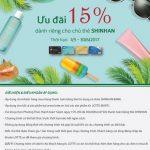 Thỏa thích mua sắm tại Lotte.vn với ưu đãi 15% dành riêng cho chủ thẻ Shinhan