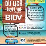 Tận hưởng du lịch tuyệt vời cùng thẻ BIDV