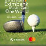 Ưu đãi sân golf 2017 dành riêng cho chủ thẻ Eximbank MasterCard One World