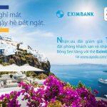 Tận hưởng ưu đãi ngày hè cùng chủ thẻ Eximbank – Visa khi đặt phòng tại Agoda