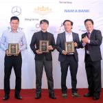 Nam A Bank ưu đãi thẻ MasterCard Platinum tại giải Golf Đà Lạt Open Championship 2017