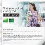 Thứ sáu vui vẻ cùng thẻ OCB Lucky