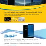 Sở hữu Samsung Galaxy S8/S8+ giá mềm với thẻ PVcomBank Mastercard