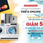 Thứ 6 online tại Nguyenkim.com với thẻ Sacombank MasterCard