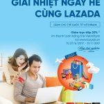 Thanh toán bằng thẻ VietinBank, khách hàng Lazada được giảm ngay 20%