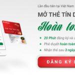 Mở thẻ tín dụng trực tuyến - Sở hữu sau 48h cùng VPBank