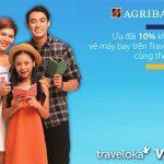 Săn vé máy bay giá rẻ với thẻ Agribank Visa