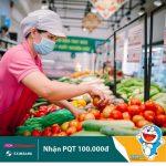 Tặng phiếu mua hàng trị giá 100.000 đồng dành cho chủ thẻ Eximbank-JCB khi mua sắm tại AEON Citimart