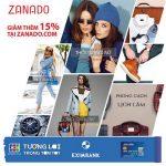 Giảm 15% tại website Zanado dành cho chủ thẻ Eximbank-JCB