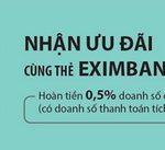 Nhận ưu đãi cùng thẻ Eximbank Passbook