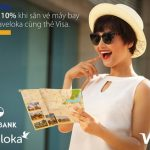 Ưu đãi 10% khi săn vé máy bay trên Traveloka cùng thẻ quốc tế Eximbank - Visa