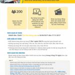 Hoàn tiền thêm 10% vào VINID khi mua sắm bằng thẻ ATM của PVcomBank