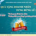 SCB triển khai chương trình khuyến mại Quà tặng doanh nhân – Tưng bừng lễ hội