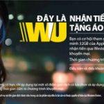 Cơ hội sở hữu iPhone 7 khi nhận tiền qua Western Union tại SHB