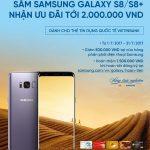Sắm Samsung Galaxy S8/S8+ nhận ưu đãi đến 2 triệu đồng cùng VietinBank